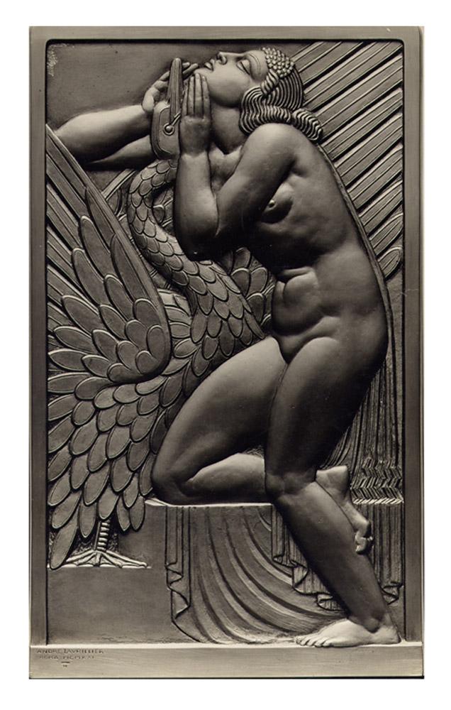 Andre-Lavrillier-plaquette-Leda-1921