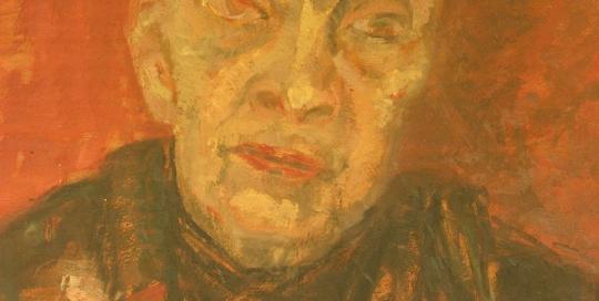 Portrait mère de Margaret - Huile sur toile - Margaret Cossaceanu - 1930 - Photo Carol-Marc Lavrillier