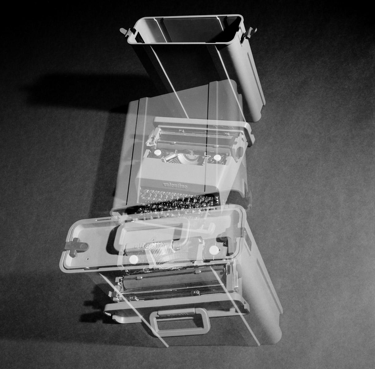 Machine à écrire - Valentine Ettore - Sottsass - Olivetti - Photo Carol-Marc Lavrillier