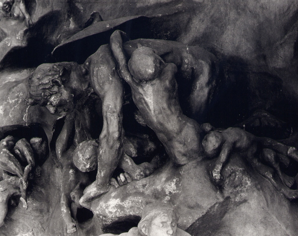 Porte de l'Enfer - Sculpture Rodin - Ugolin - Photo Carol-Marc Lavrillier