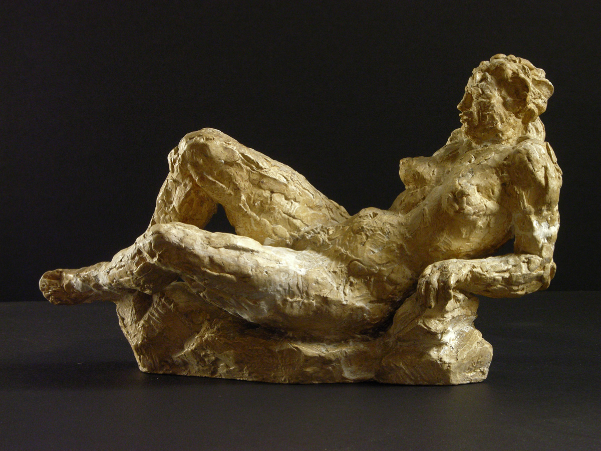 Repos - Etude sculpture - Margaret Cossaceanu - 1945 - 1950 - Photo Carol-Marc Lavrillier