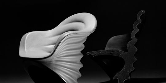 Tenereide fauteuil de bureau - Mario Bellini - Photo Carol-Marc Lavrillier